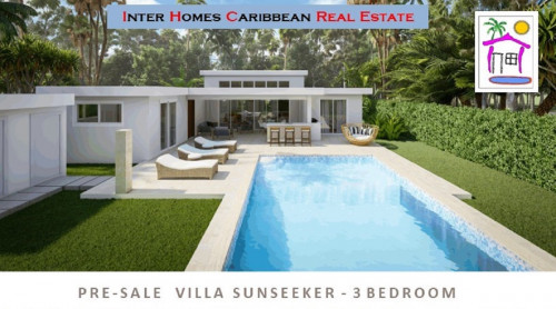 thumbnail for PRE-SALE: VILLA SUNSEEKER - 3-bed – for versatile Caribbean Life!