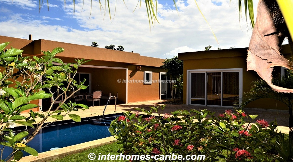 thumbnail for SOSUA: RENTAL VILLA PATRICIA WITH 3 BEDROOMS